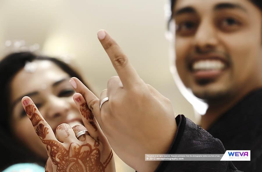 Hindu Engagement Photography of Gayathri & Anuj at Ramada Resorts Kochi