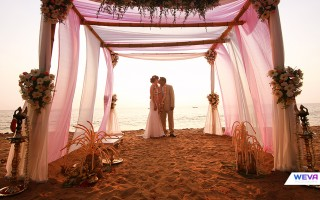 Beach wedding Kerala