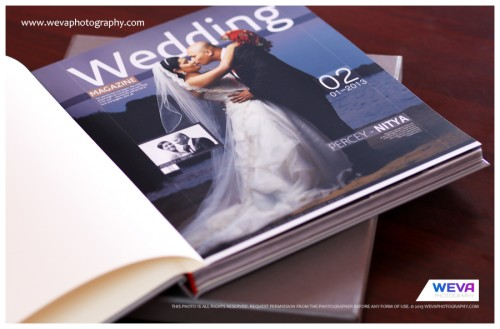 Magazine Wedding Albums, Candid wedding album makers