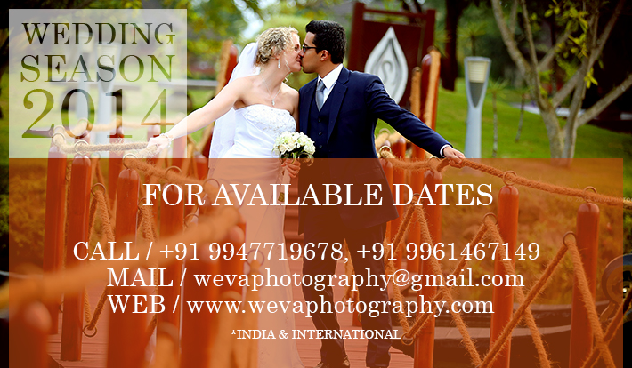 Wedding Photography Advance Booking for 2014