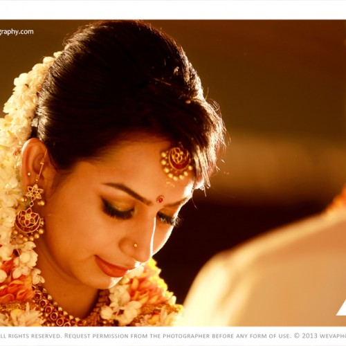 Hindu Wedding Photography at Guruvayur Temple