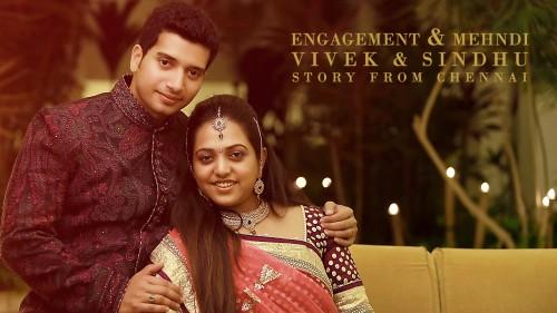 Mehndi & Sangeeth Ceremony of a Tamil Wedding at Chennai