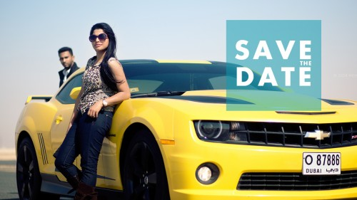 Save the date Video - Dubai Wedding Proposal