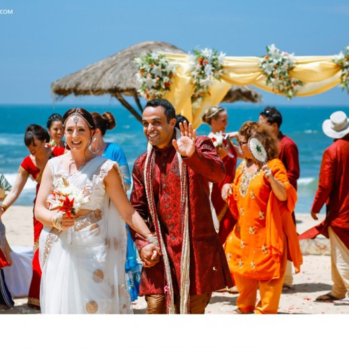 Destination Wedding Photography At The Leela Kovalam
