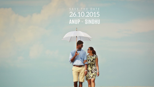 Save the date Wedding Videography of Anup & Sindhu at Mysore