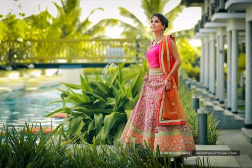 Engagement Photo-shoot at Ramada Resorts Kochi