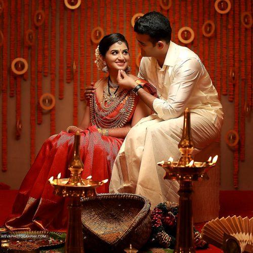 Grand Kerala Wedding Photography At Kottayam