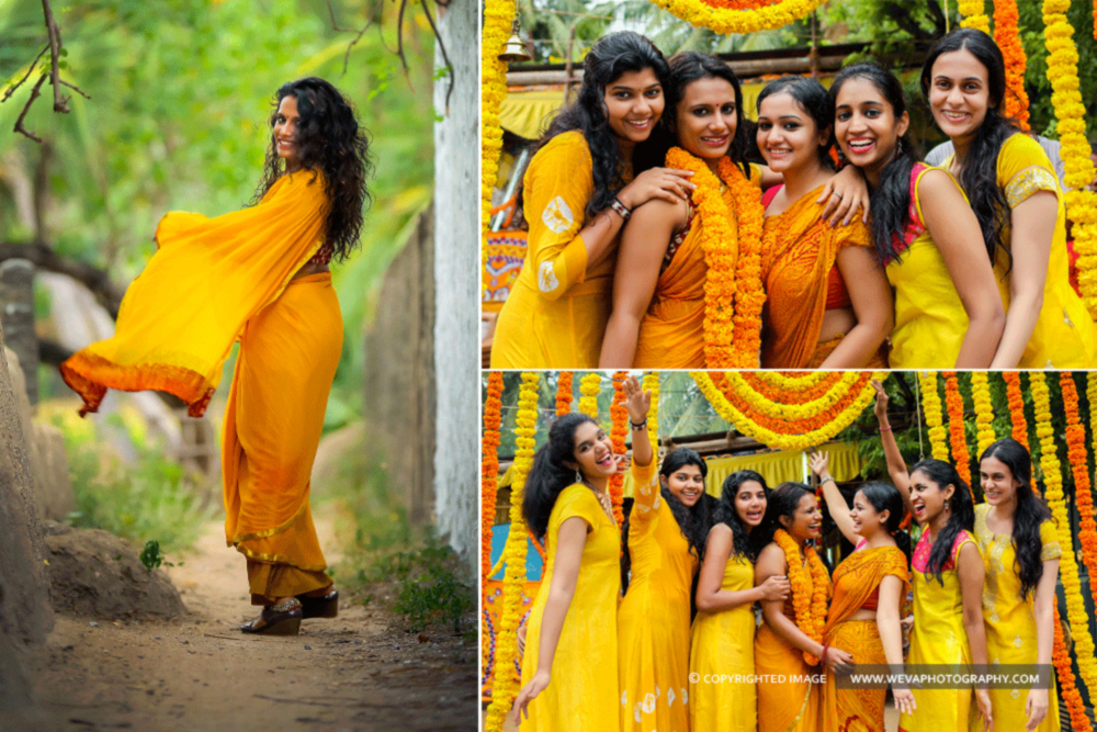 Haldi Photography Nagercoil
