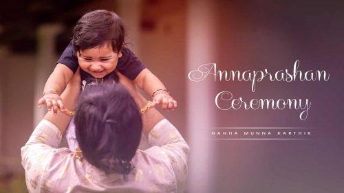 Nanha Munna Karthik....An Endearing Annaprashan Ceremony!!!!