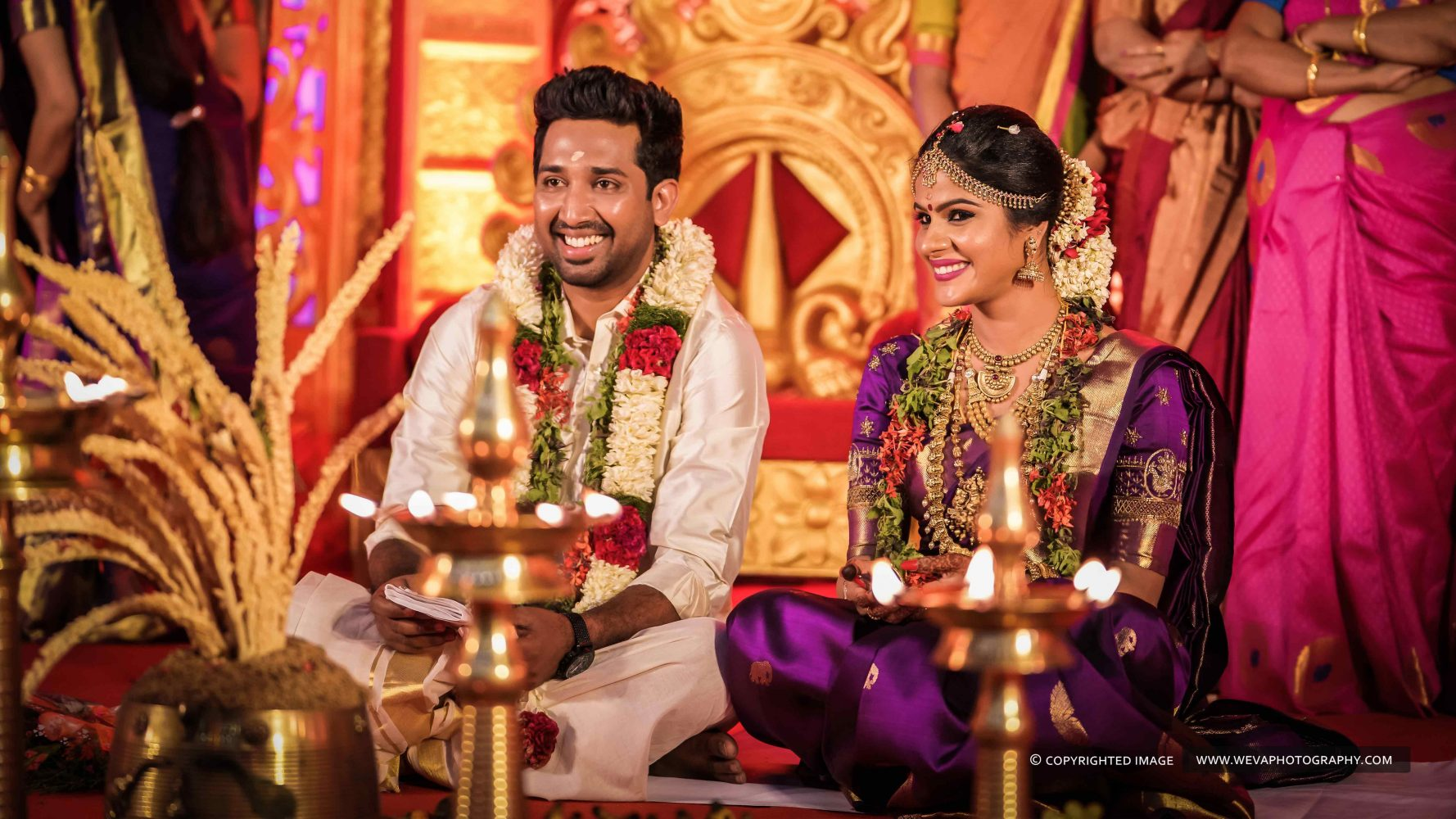 Weddings are always pretty, it will be aesthetic if it has vivid colour combinations.Presenting one such Wedding Photography of Sujana and Visakh.. The most lovely couple of this Wedding Season..Wishing you a wonderful Married Life.