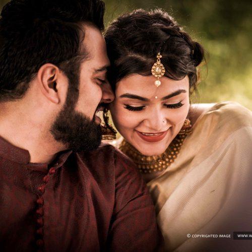 A Kerala Style Punjabi Wedding Photography