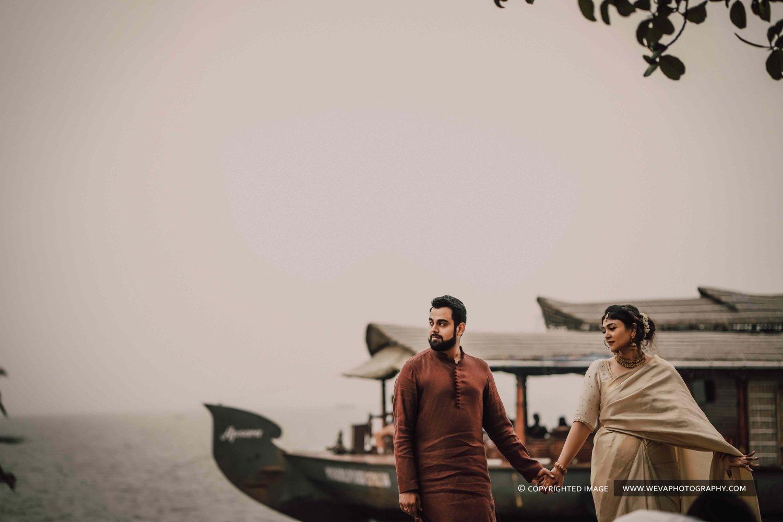Destination Wedding Photography Of Aakriti And Aditya At Zuri Resort Kumarakom