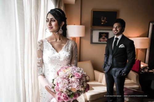 Christian Wedding Photography At Leela Palace Chennai
