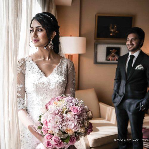 Christian Wedding Photography At Leela Palace Chennai