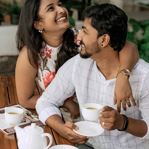 A Tea Time Chat!!! Post Wedding Photography